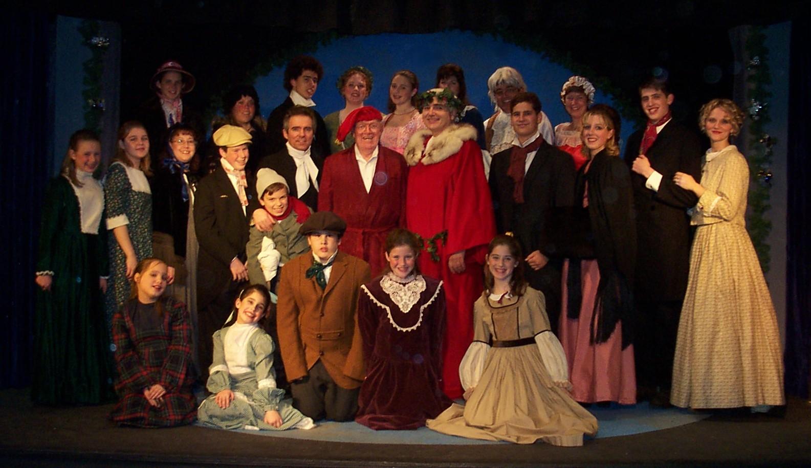 A Christmas Carol Cast.Stratton Players A Christmas Carol